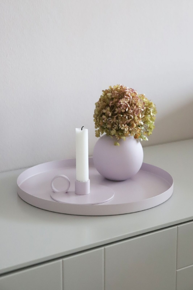 COOEE - BALL VASE LILAC