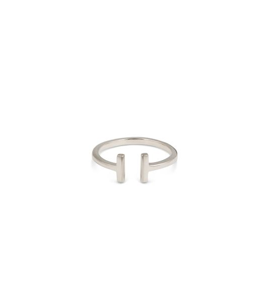 SYSTER P - STRICT PLAIN BAR RING