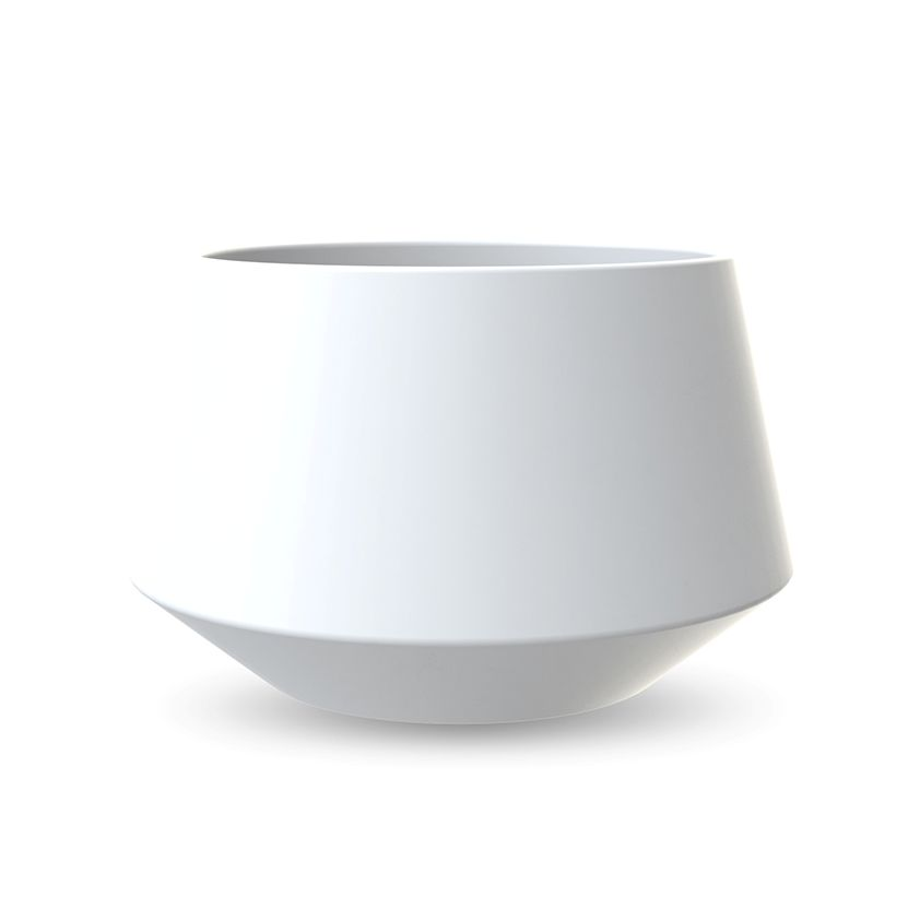 COOEE - POTTE CONVEX WHITE