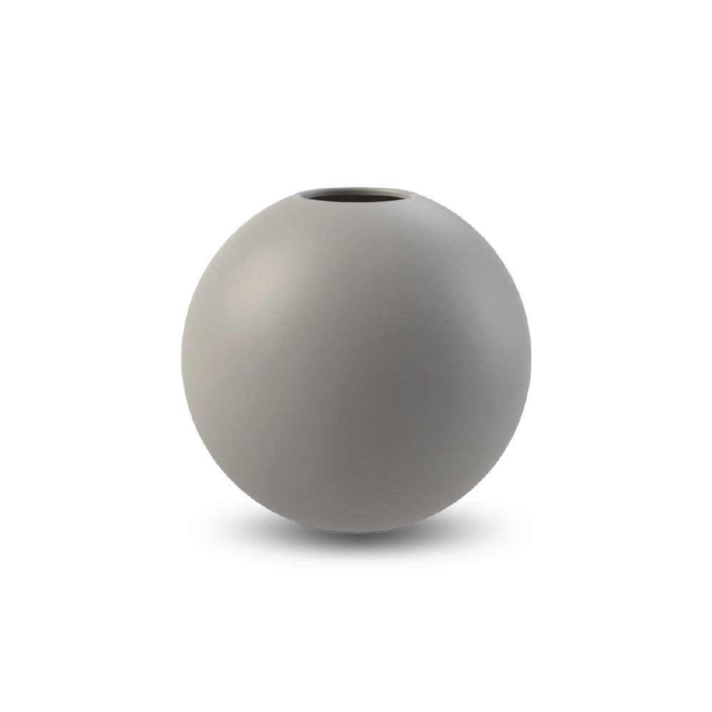 COOEE - VASE BALL Grå 30 Cm