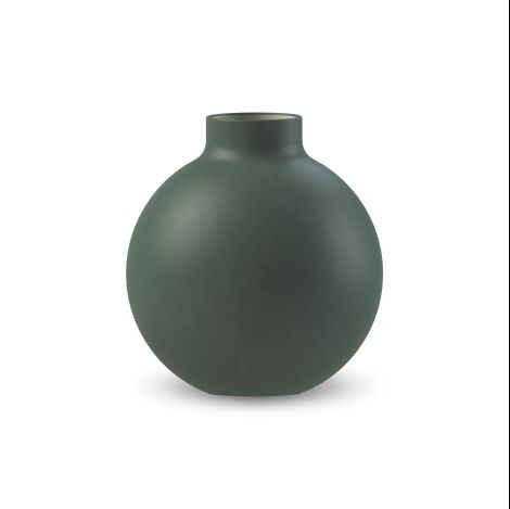 COOEE - COLLAR VASE DARK GREEN