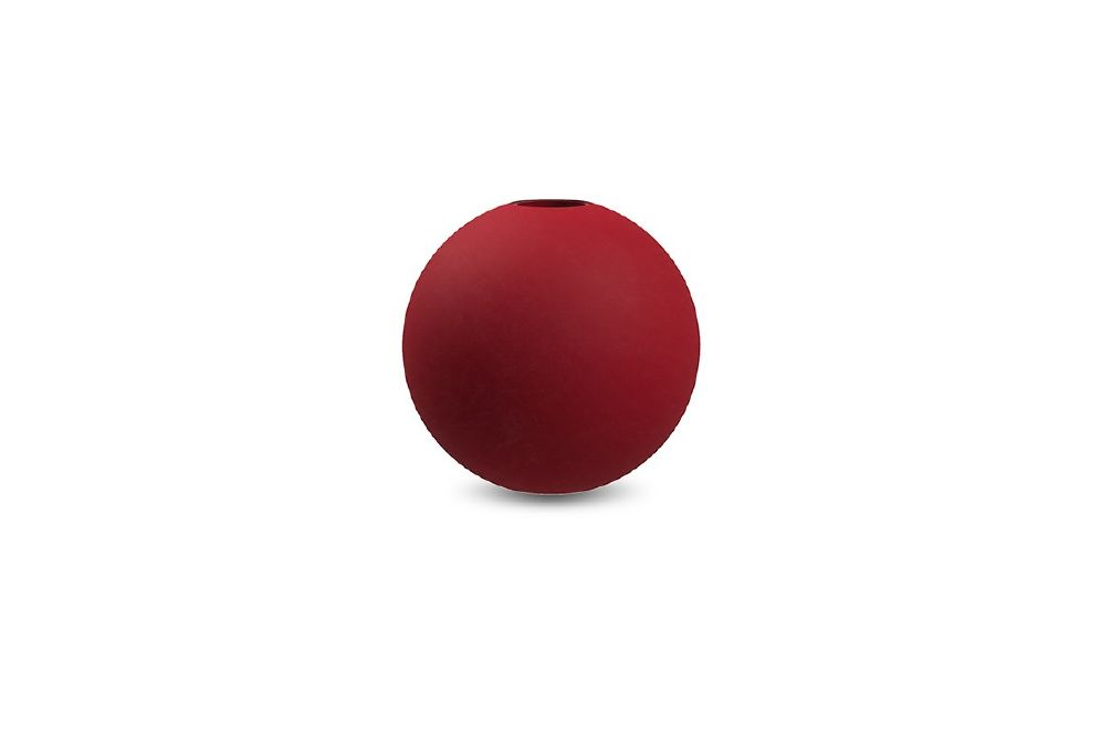COOEE - LYSESTAKE BALL Dusty Red 10 Cm