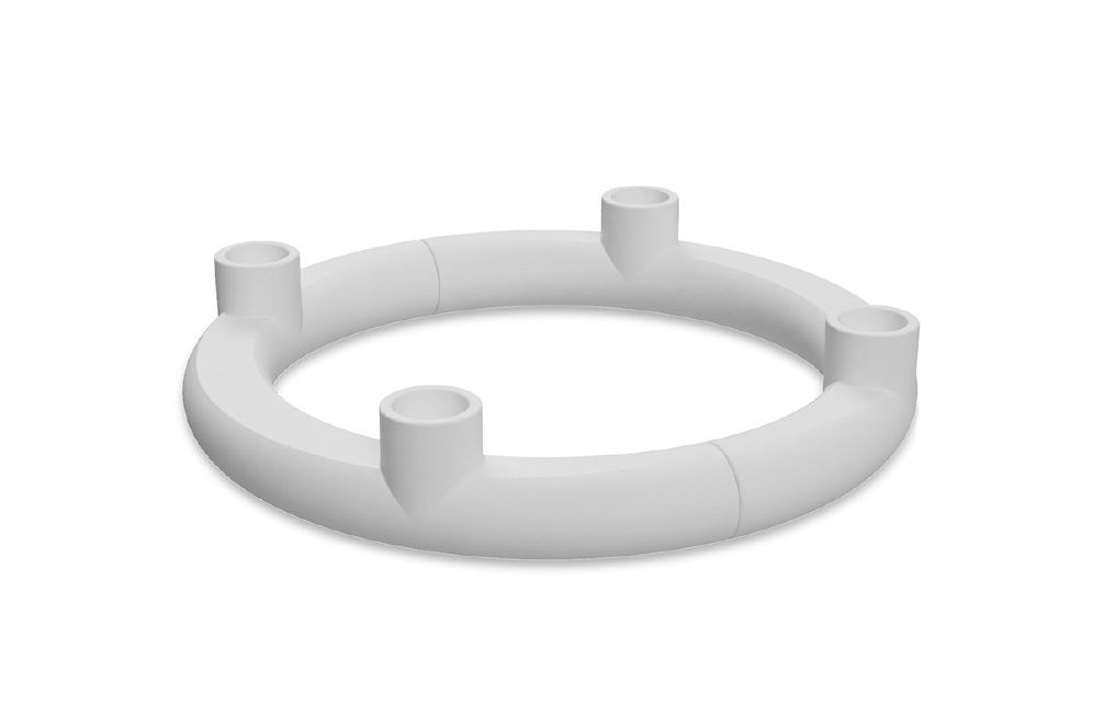 COOEE - UNITED CANDLESTICK WHITE
