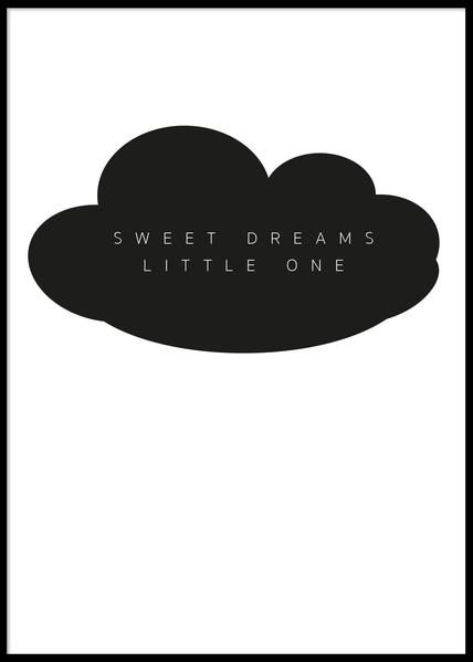 PAPERTOWN - POSTER SWEET DREAMS