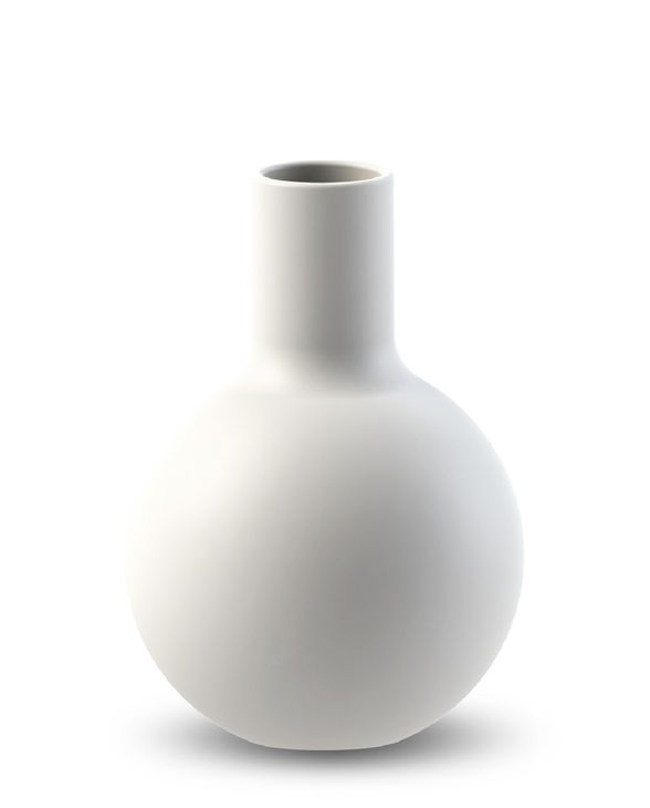 COOEE - COLLAR VASE WHITE