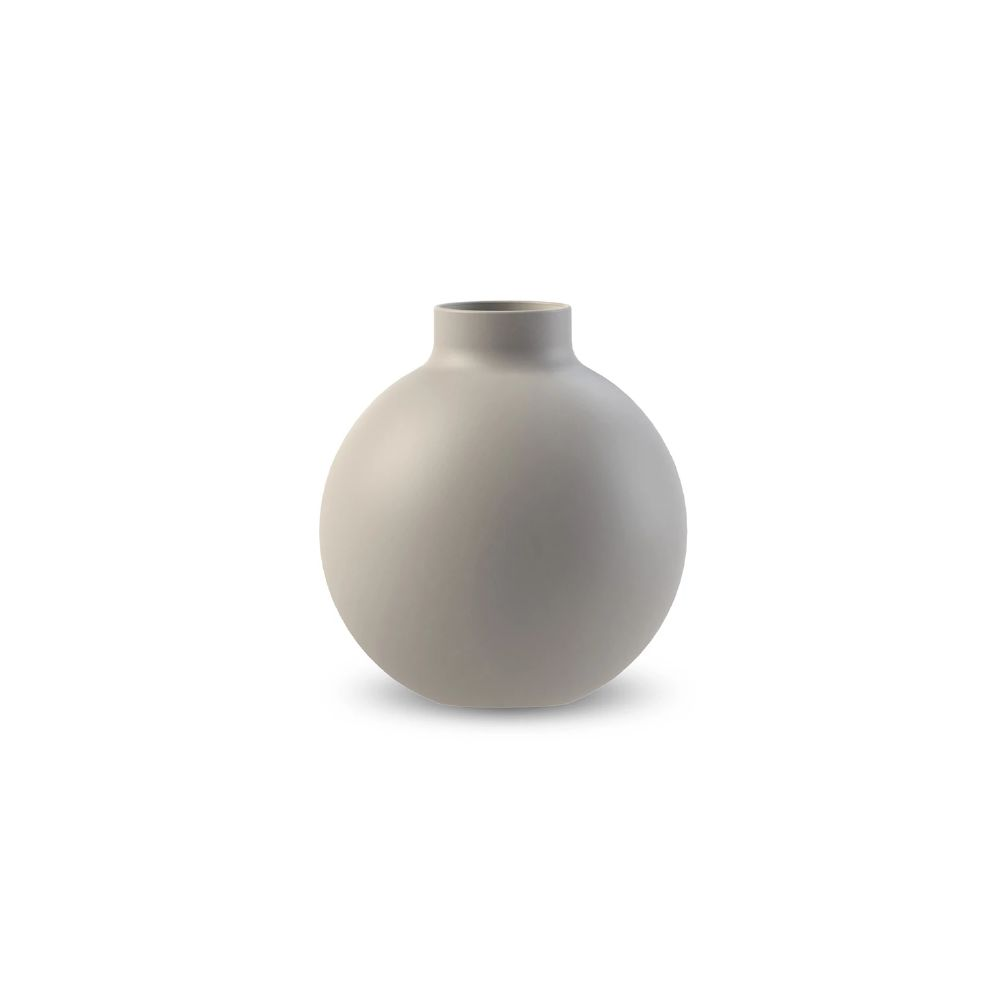 COOEE - COLLAR VASE LIGHT GREY