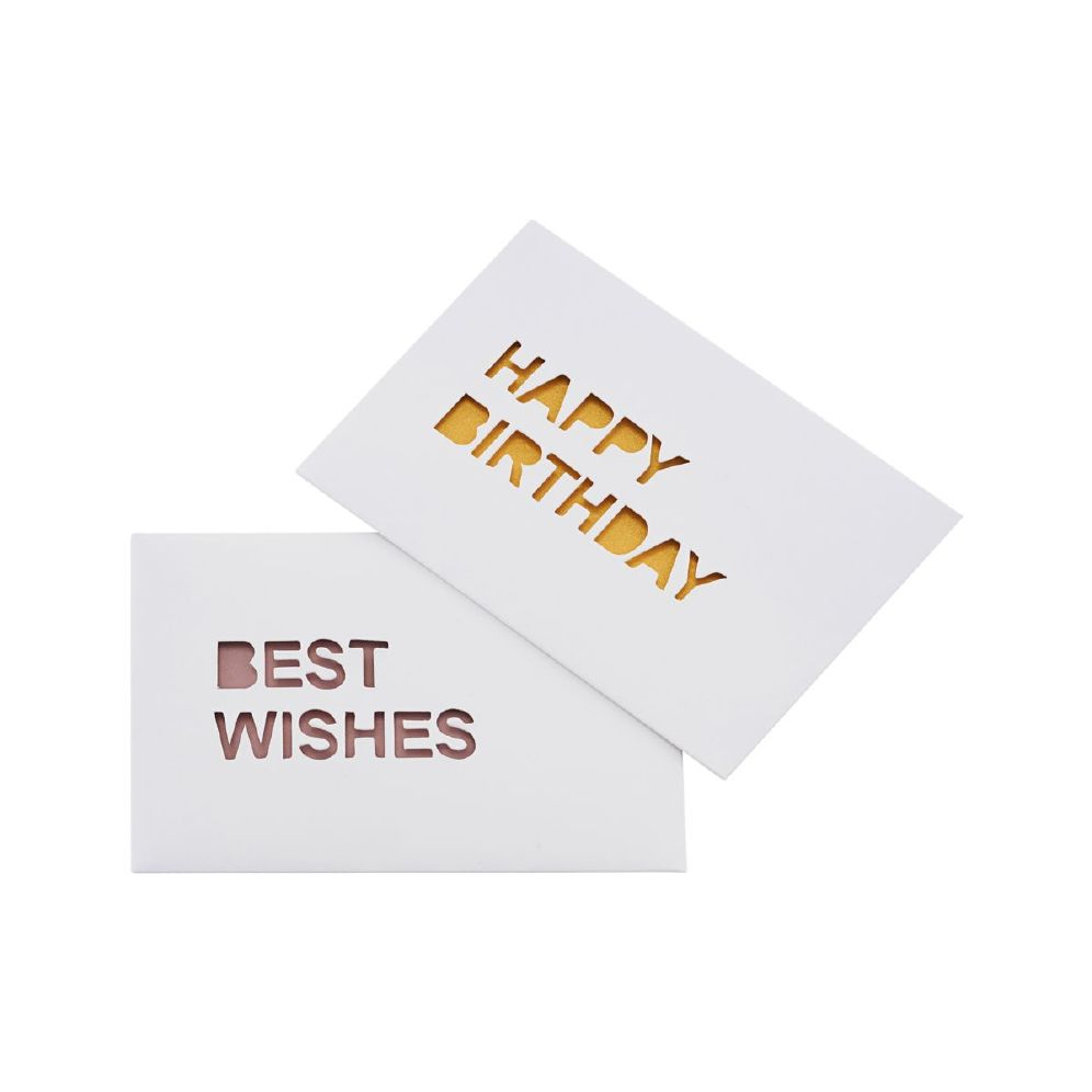 MONOGRAPH - NOTE CARDS, WISHES