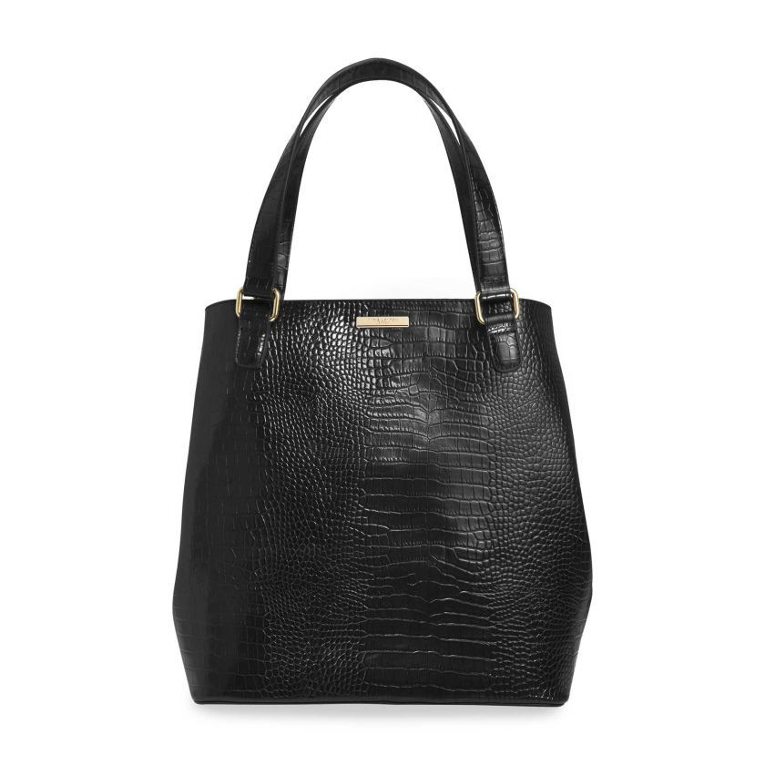 KATIE LOXTON - CELINE CROC DAY BAG
