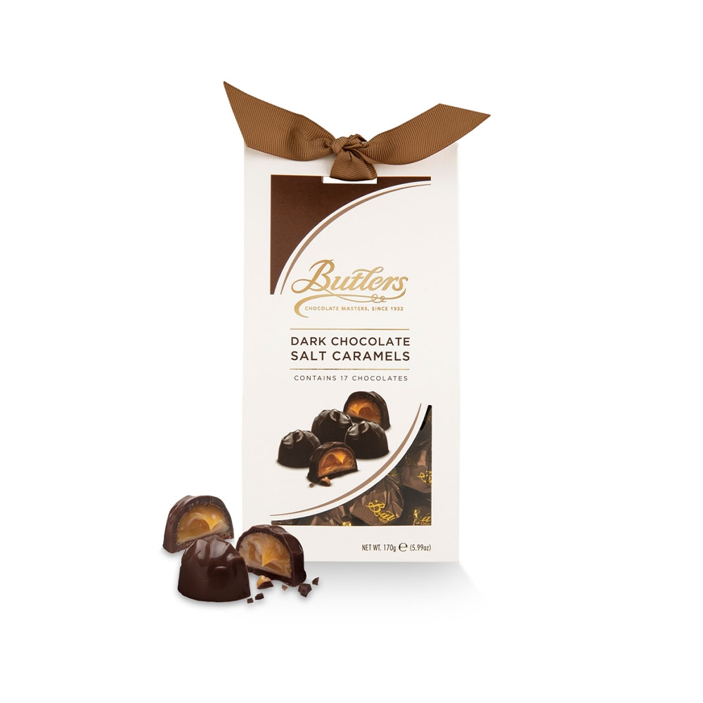 BUTLERS - DARK CHOCOLATE SALTY CARAMEL 170g