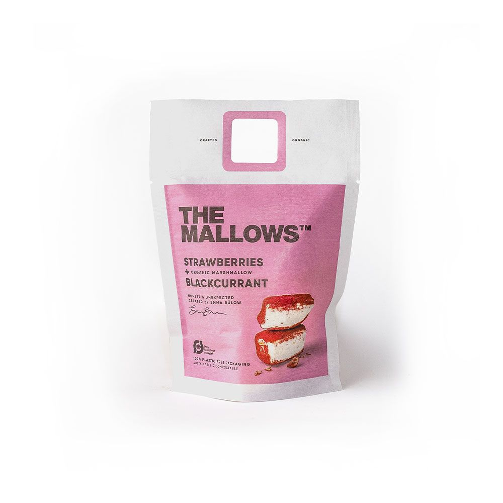 MALLOWS - STRAWBERRIES & BLACKCURRANT 80gr