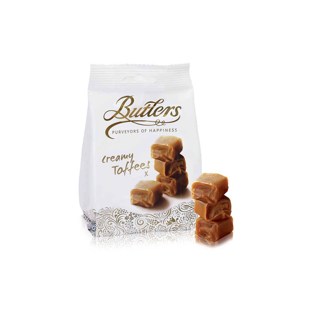 BUTLERS - CREAMY TOFFEE 125gr