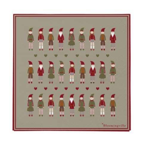 MADAM STOLTZ - BRETT Brass Ø:11,5 Cm