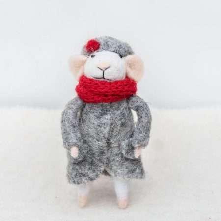 COOEE - VASE BALL Olive 8 Cm