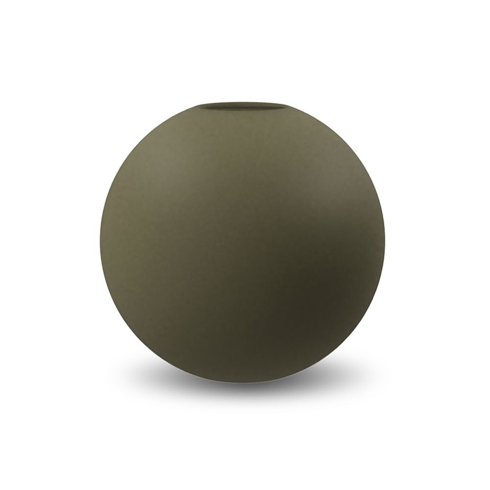 COOEE - VASE BALL Olive 20 Cm