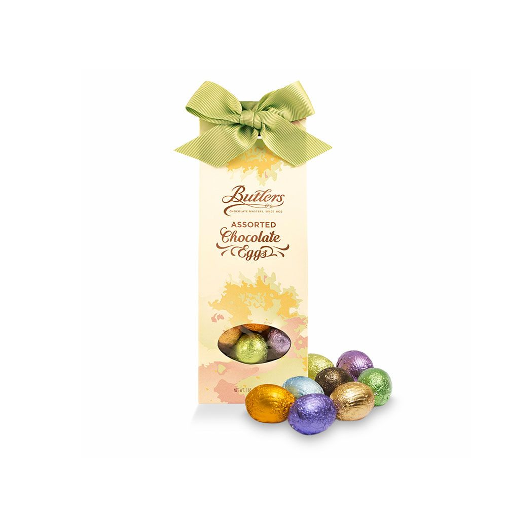 BUTLERS - ASSORTED CHOCOLATE EGGS 185gr