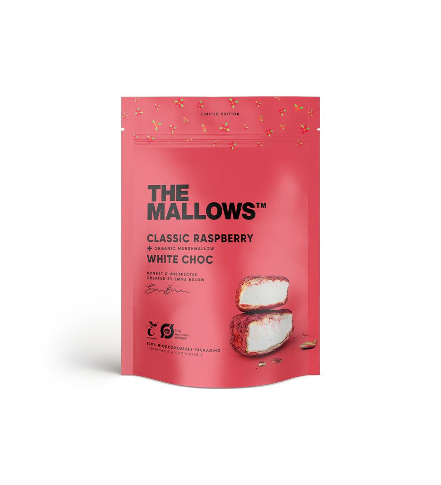 MALLOWS - CLASSIC RASPBERRY 90gr