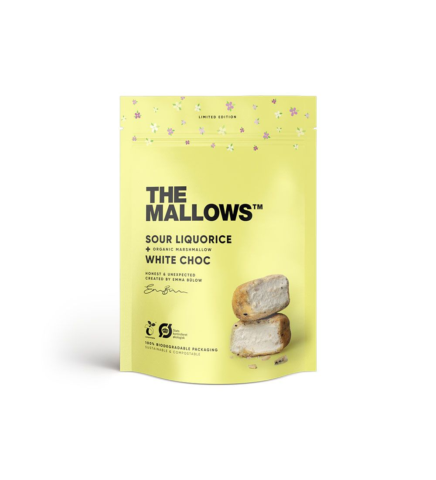 MALLOWS - SOUR LIQUORICE 90gr