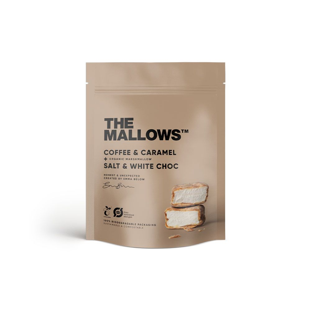 MALLOWS - COFFEE AND CARAMEL 90gr