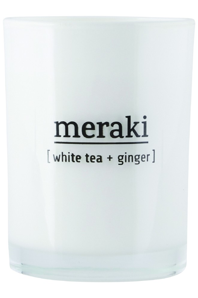 Meraki duftlys White tea + ginger