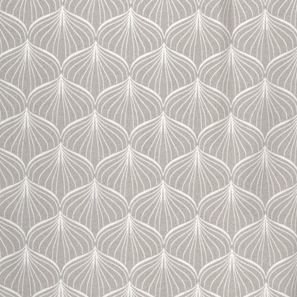 Voksduk grå med mønster