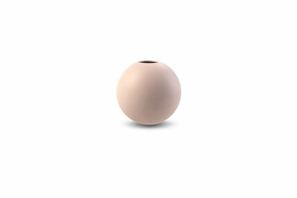 COOEE - VASE BALL Dusty Pink 8 Cm
