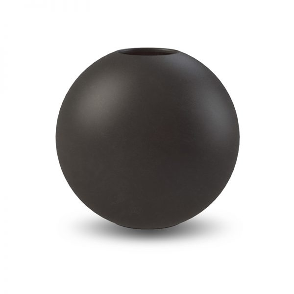 COOEE - BALL VASE BLACK