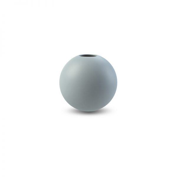 COOEE - VASE BALL Dusty Blue 8 Cm
