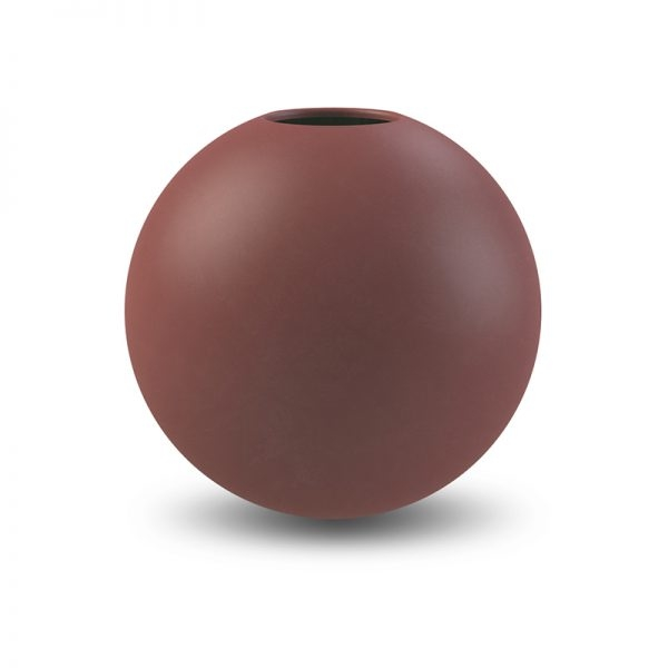 COOEE - VASE BALL Plomme 20 Cm