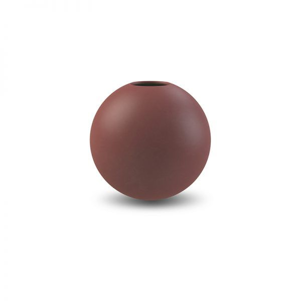 COOEE - VASE BALL Plomme 8 Cm