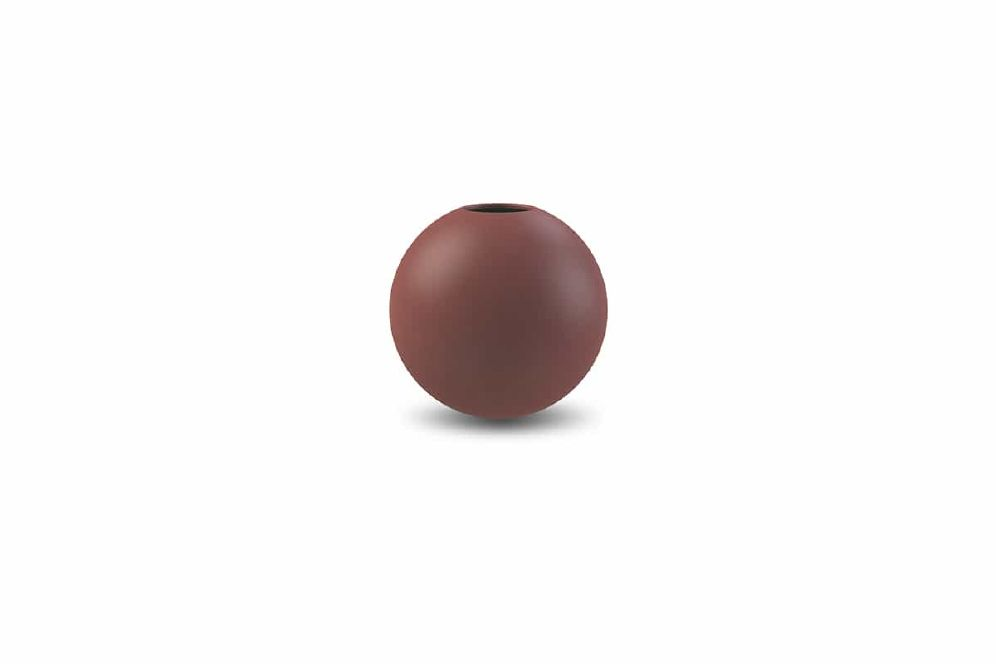 COOEE - VASE BALL Plomme 10 Cm