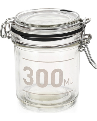 "Krukke ""Clip jar"" 300ml"