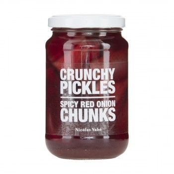 Crunchy Pickles Spicy Red Onion