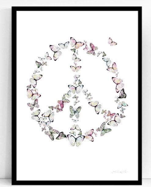 Poster peace 50x70